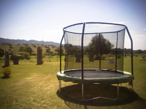 La rete di protezione nel trampolino elastico cosa sapere - Tappeto esterno ...