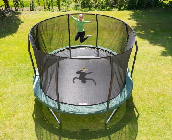 trampolino elastico ovale