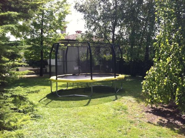 trampolino ovale