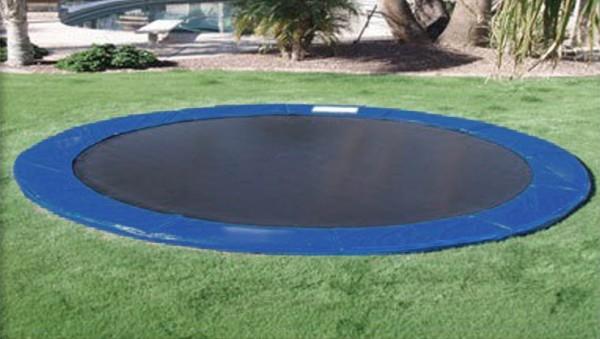 tappeto elastico da terra