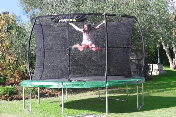 trampolino elastico per bambini e adulti